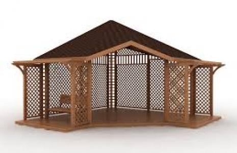 Беседка — уютное место для вашего отдыха в саду